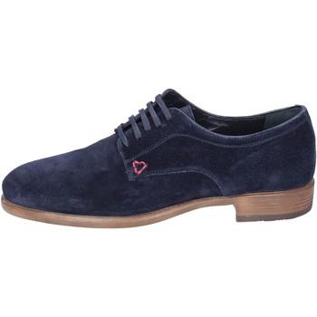 Schuhe Herren Derby-Schuhe Triver Flight Elegante Wildleder Blau