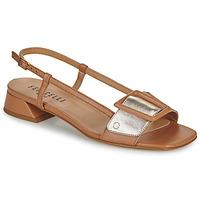 Schuhe Damen Sandalen / Sandaletten Fericelli PANILA Camel / Gold