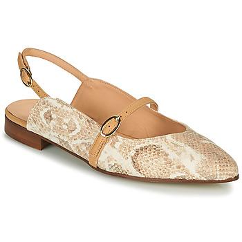 Schuhe Damen Ballerinas Fericelli SUSANNA Weiss