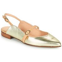 Schuhe Damen Ballerinas Fericelli SUSANNA Gold