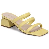 Schuhe Damen Pantoffel Fericelli TIBET Gelb