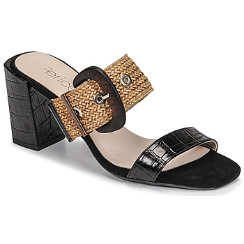Schuhe Damen Pantoffel Fericelli MARCO Schwarz