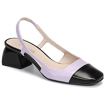 Schuhe Damen Pumps Fericelli TOUBET Violett / Schwarz