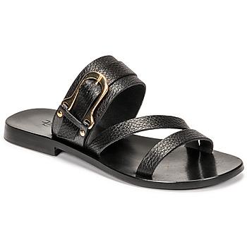 Schuhe Damen Sandalen / Sandaletten Fericelli STAMP Schwarz