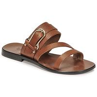 Schuhe Damen Sandalen / Sandaletten Fericelli STAMP Camel