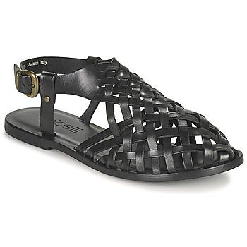 Schuhe Damen Sandalen / Sandaletten Fericelli ONUOVO Schwarz
