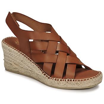 Schuhe Damen Sandalen / Sandaletten Fericelli ODALUMY Camel