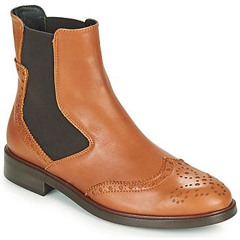 Schuhe Damen Boots Fericelli CRISTAL Camel