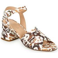 Schuhe Damen Sandalen / Sandaletten Fericelli ONAPA Beige / Gold