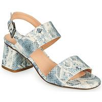 Schuhe Damen Sandalen / Sandaletten Fericelli MARRAK Blau