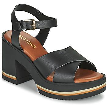 Schuhe Damen Sandalen / Sandaletten Sweet Lemon LUPOLE Schwarz
