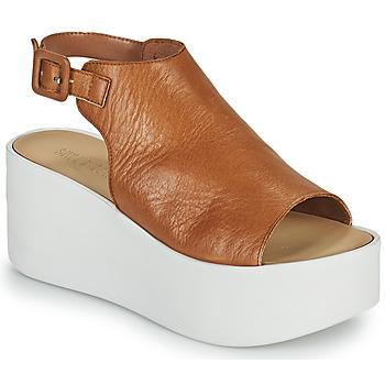 Schuhe Damen Sandalen / Sandaletten Sweet Lemon PYTON Braun