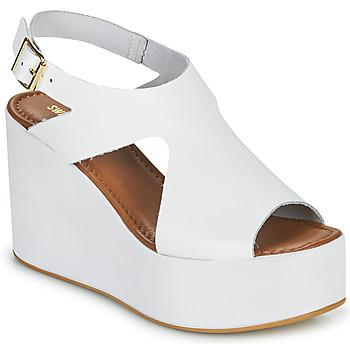 Schuhe Damen Sandalen / Sandaletten Sweet Lemon IJOX Weiss