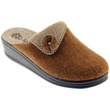 Schuhe Damen Pantoffel Sanital ART 104 pantoletten hausschuhe Multicolor