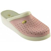 Schuhe Damen Pantoffel Sanital ART 1250 pantoletten hausschuhe Multicolor