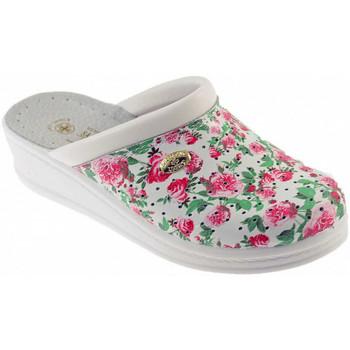 Schuhe Damen Pantoffel Sanital ART 1350 pantoletten hausschuhe Multicolor