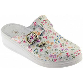 Schuhe Damen Pantoffel Sanital ART 4372 pantoletten hausschuhe Multicolor