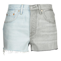 Kleidung Damen Shorts / Bermudas Levi's ICE BLOCK Blau / Grau