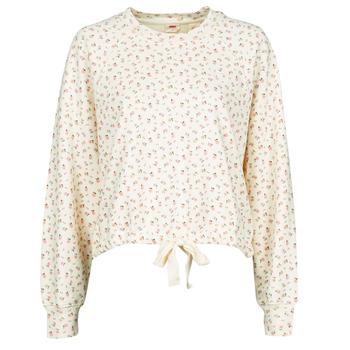 Kleidung Damen Sweatshirts Levi's CYPRINE TOFU Beige