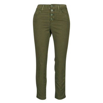 Kleidung Damen 5-Pocket-Hosen Levi's SOFT CANVAS OLIVE NIGHT OD Kaki