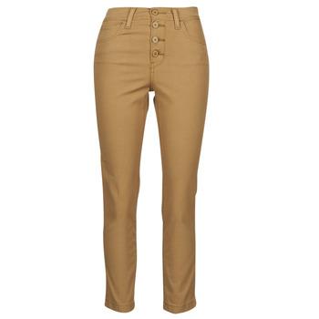 Kleidung Damen 5-Pocket-Hosen Levi's SOFT CANVAS TOASTED COCONUT OD Beige