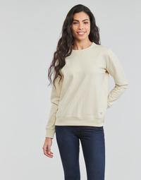 Kleidung Damen Sweatshirts Lee SUSTAINABLE SWS ECRU MELE Weiss