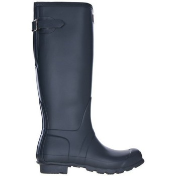 Schuhe Damen Gummistiefel Hunter Original Back Adjustable Dunkelblau