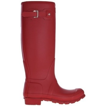Schuhe Damen Gummistiefel Hunter Womens Org Tall Rot