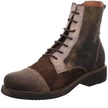 Schuhe Damen Boots Charme Stiefeletten 3132-B16 braun