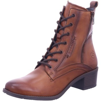Schuhe Damen Low Boots Bugatti Stiefeletten Ruby 411562314100-6300 braun