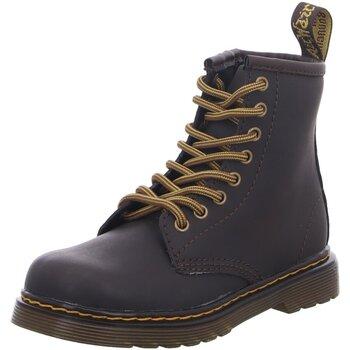 Schuhe Jungen Stiefel Dr Martens Schnuerstiefel 1460 Kids Wildhorse 25676207 gaucho braun