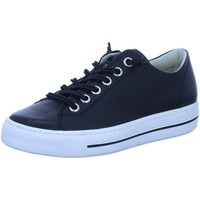 Schuhe Damen Sneaker Low Paul Green Schnuerschuhe 0068-4081-058/Pauls 4081-058 schwarz