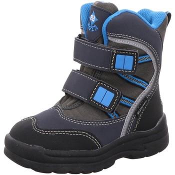 Schuhe Jungen Schneestiefel Brütting Klettstiefel 691066 grau