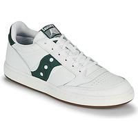 Schuhe Herren Sneaker Low Saucony JAZZ COURT Weiss / Grün