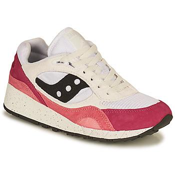 Schuhe Damen Sneaker Low Saucony SHADOW 6000 Weiss / Rose