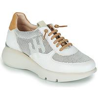 Schuhe Damen Sneaker Low Hispanitas TELMA Weiss / Gold