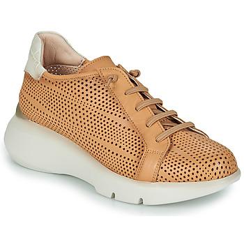 Schuhe Damen Sneaker Low Hispanitas TELMA Camel / Beige