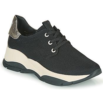 Schuhe Damen Sneaker Low Hispanitas ANDES Schwarz