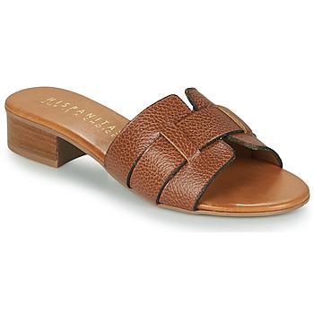 Schuhe Damen Pantoffel Hispanitas LOLA Braun