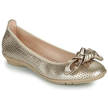 Schuhe Damen Ballerinas Hispanitas CAPRI Gold