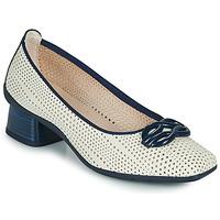 Schuhe Damen Pumps Hispanitas FIONA Weiss / Blau
