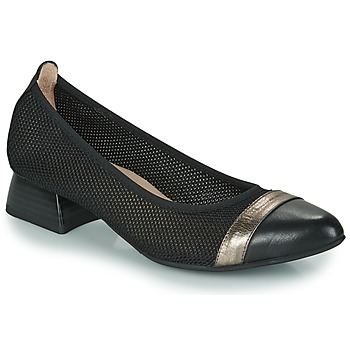 Schuhe Damen Pumps Hispanitas ADEL Schwarz / Silbern