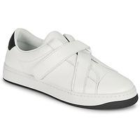 Schuhe Damen Sneaker Low Kenzo ENZO KOURT SCRATCH SNEAKERS Weiss