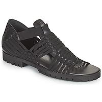 Schuhe Damen Sandalen / Sandaletten Kenzo GREEK FLAT SANDALS Schwarz