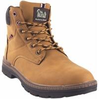 Schuhe Herren Boots Bitesta 39111 geröstet Braun