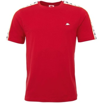 Kleidung Herren T-Shirts Kappa Hanno Rot