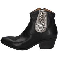 Schuhe Damen Boots Gio + M102AC SCHWARZ