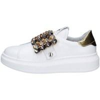 Schuhe Damen Sneaker Low Gio + G908B WEISS