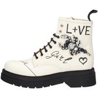 Schuhe Damen Boots Gio + G2135B MILCH