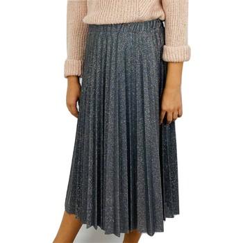 Kleidung Mädchen Röcke Vicolo 3141G0440 Rock Kind SILBER SILBER